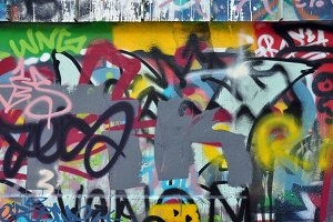 Messy Graffiti Tags