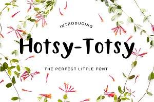 Hotsy Totsy Font