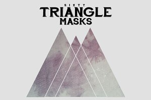 Textured Triangle Masks