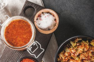 Korean food, kimchi
