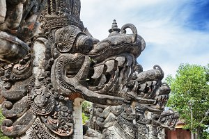 Balinese temple decoration