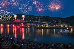 Heidelberg's Castle Illumination