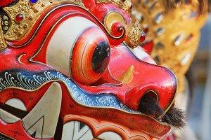 Balinese mask Barong