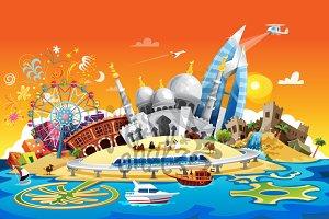 UAE: 7 Emirates Skyline