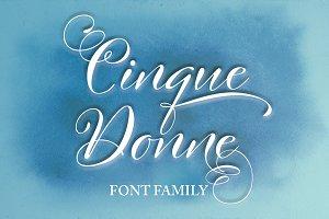 Cinque Donne Font Family