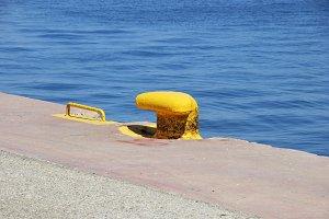 Yellow pier