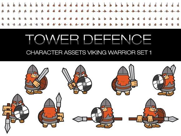 Viking Warrior Character Assets