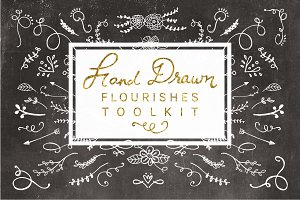 Hand Drawn Flourishes Toolkit