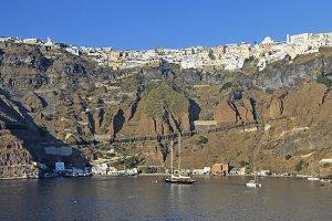 Santorini or Fira, Greece