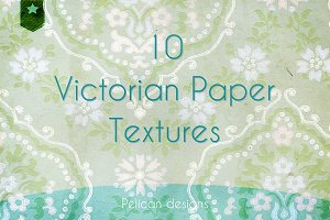 Victorian wallpaper set