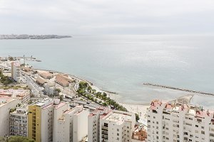 View of the city of Alicante