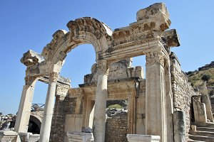 Hadrian temple, Ephesus, Turkey