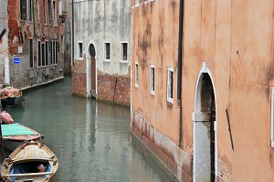 Canal in Venice. Italy