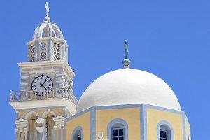 Catholic Cathedral Fira, Greece