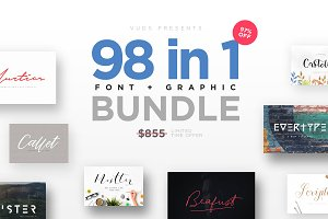 FontGrap - Font & Graphic Bundle