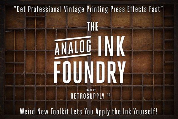 Analog Ink Foundry - PSD Print Kit