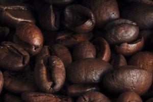 Coffee grains backround