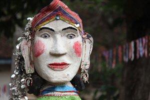 Puppet at Pagoda Festival