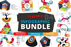 Flexible Infographic Bundle (vol.4)
