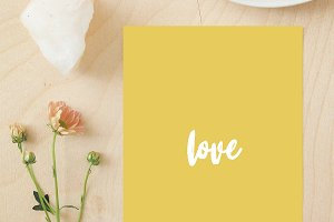 Love - wall art, print