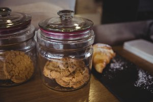 Cookies in a mason jar