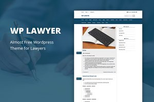 WP Lawyer - Cheap WordPress Theme