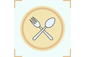Eatery color icon