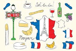 France Paris clipart