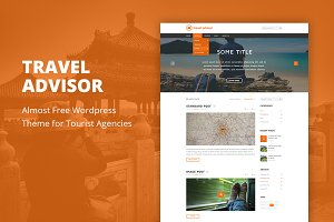 Travel Advisor - WordPress Theme