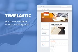 Templastic - Cheap WordPress Theme