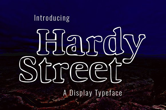 Hardy Street Typeface