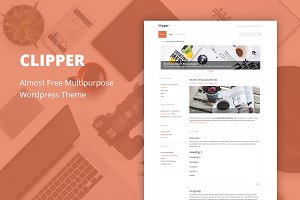 Clipper - Cheap WordPress Theme