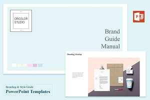 Branding & Style Guide Templates
