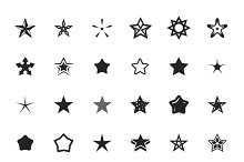 vector star icons