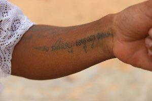 Khmer Monk Tattoo