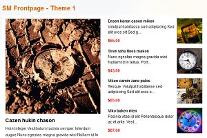 SM FrontPage - Magento Module