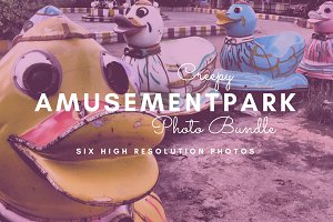 Creepy Amusement Park Photo Bundle