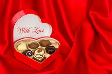 Chocolate Pralines. With Love