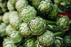 artichokes green market