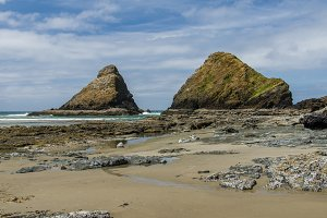 Rocks on Oregon coast