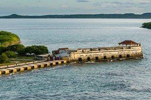 Spanish fort at Cartagena