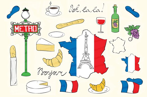 France Paris Clipart