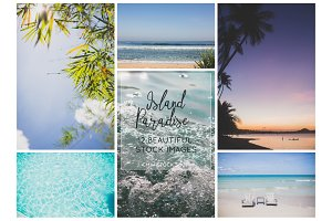 Island Paradise Branding Image Set