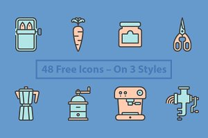 Pictográfica 16 Free Icons