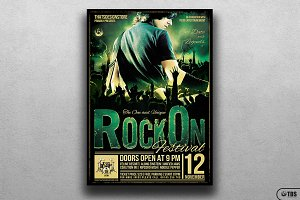 Rock Festival Flyer Template V2