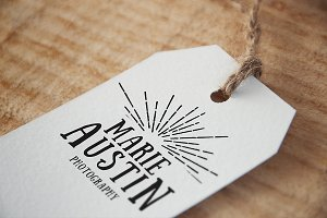 Vintage Photographer Logo