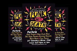 Punk Music Event Flyer