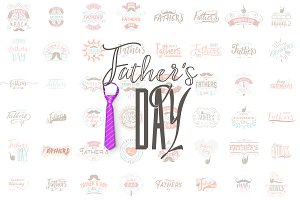 Father's Day - Badges and Posters