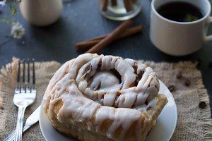 Bakery fresh cinnamon roll