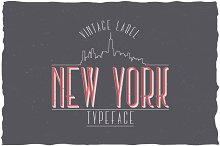New York Label Typeface